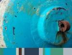 turquoise bouy