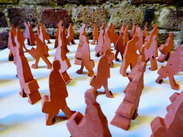 clay men by Lawrence Epps