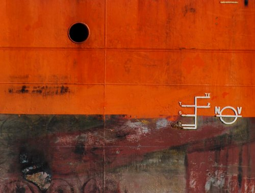 orange hull and below