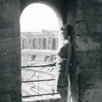 Mum in Arles 1961