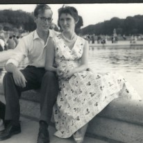 Mum and Dad in Paris