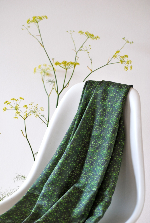 Fennel Tangle, silk