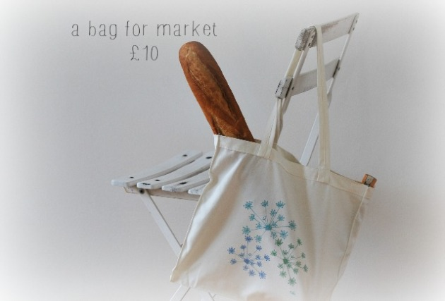 cotton fennel bag