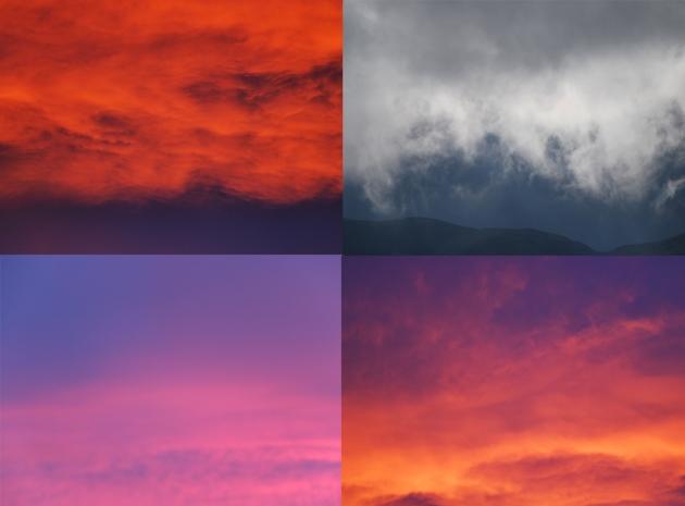 Edinburgh sky