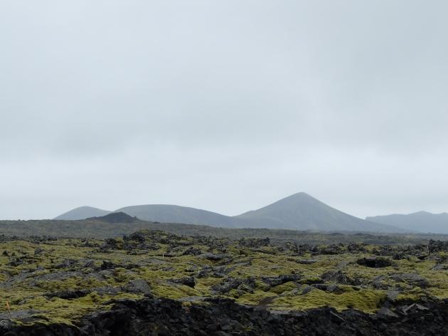 Lava fields near Keflavik