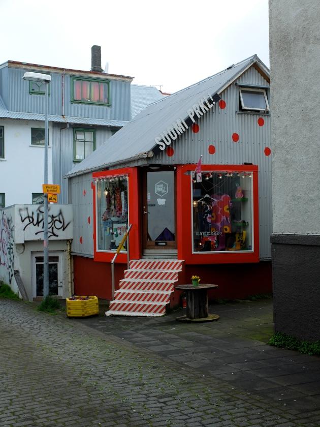 A Shop in Reykjavik