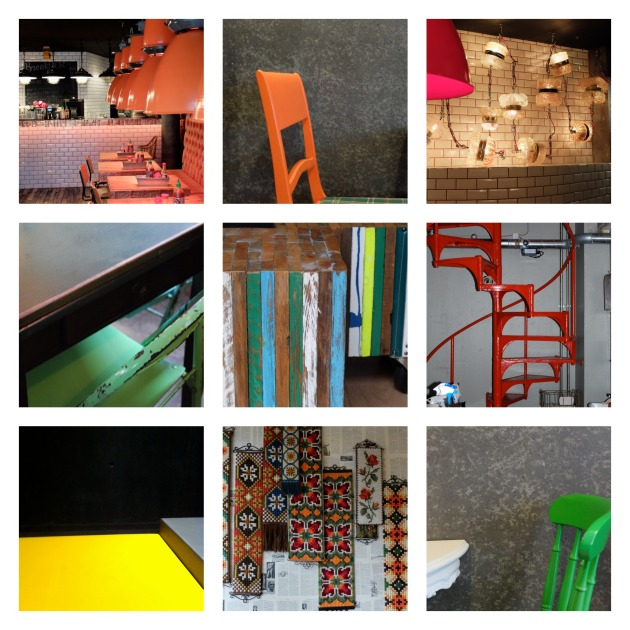 Interiors BURST with colour