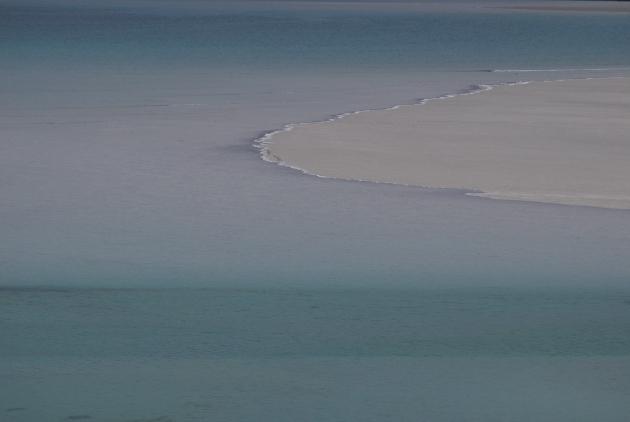 The Sea Turns Mauve