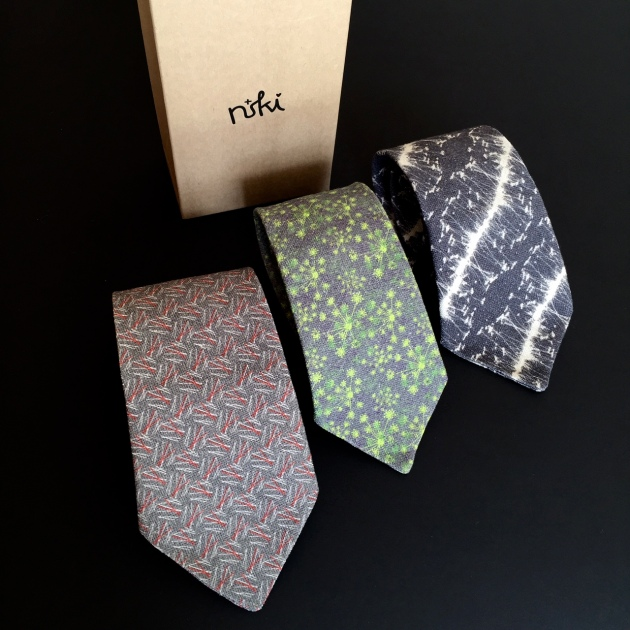 Linen Ties designed by Niki Fulton