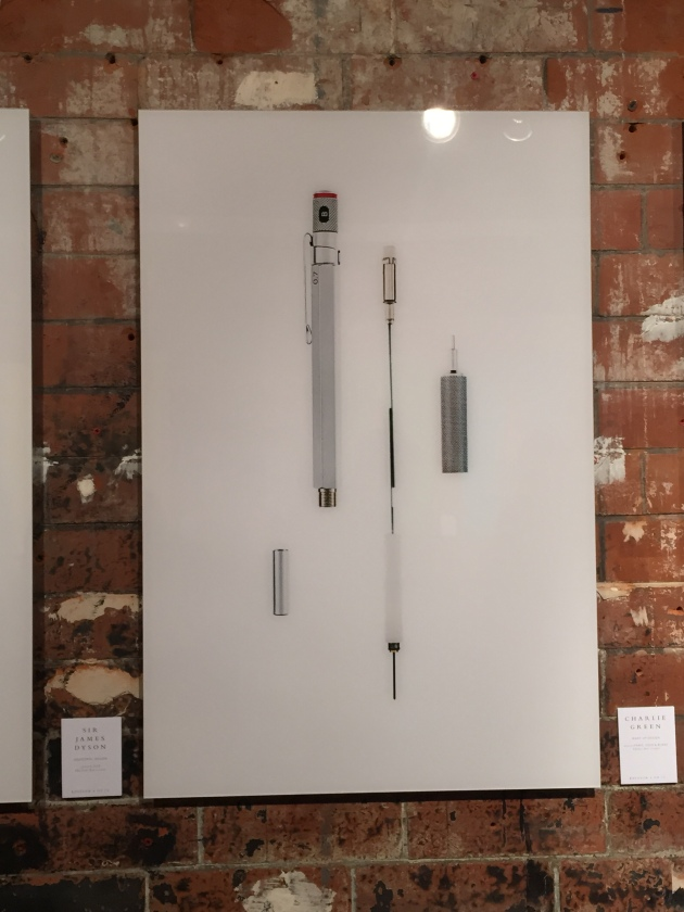 James Dyson's pencil