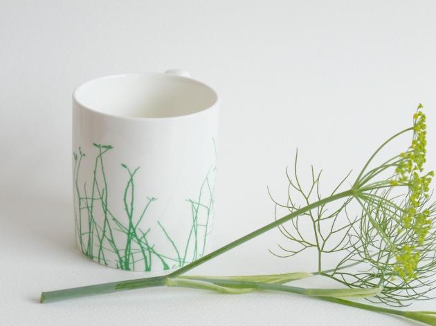 Grassy Mug