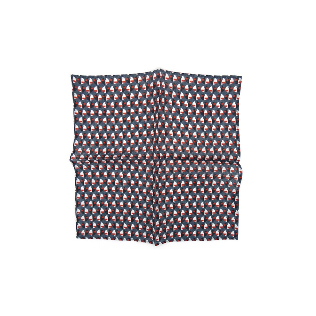 Eclipse Linen Pocket Square