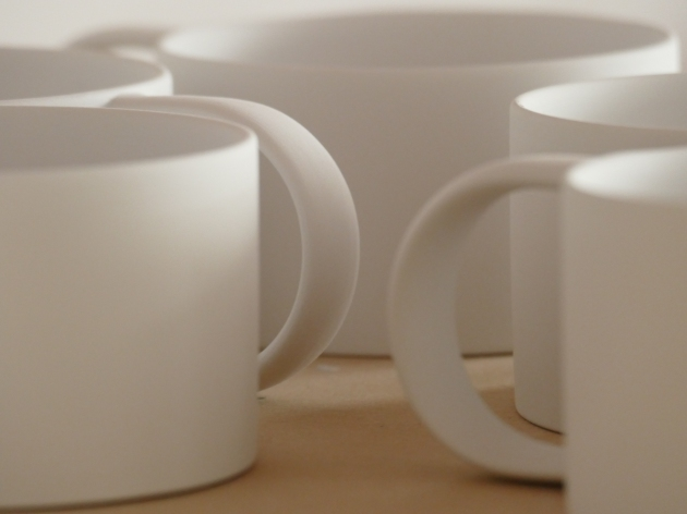 Myer Halliday's mugs